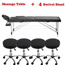 "84"" Portable Tattoo Parlor Spa Salon Facial Bed Beauty Massage Table Chair LOT S"
