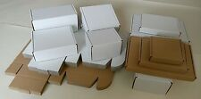 "POSTAL PACKING CARDBOARD  BOXES, MAILING PACKAGING CARTONS ""MULTI LISTING"""