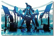 Poster Silk Hatsune Miku Vocaloid Music Anime Kakashi Japan Anime Room Print 526
