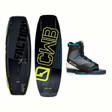 CWB Faction Blem Wakeboard With Optima Bindings 2017