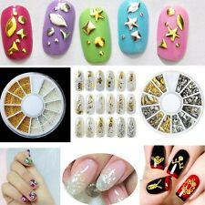 New 3D Girl Nail Art Water Stickers Transfers Decals Flower Sequin Rhinestone