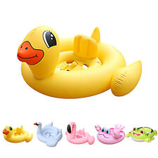 Baby Kids Swim Ring Float Raft Inflatable Kids Seat Swimming Pool Summer Toys