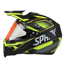 Dual Sport Off Road Motorcycle helmet Dirt Bike ATV D.O.T certified