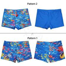 Boys Kids Swim Shorts Animal Sea-fish Swimming Beach Trunks Holiday Swimwear