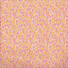 Riley Blake Designer Fabric 100% Cotton Hope Leave Pink FQ 1/2 Metre x 110cm