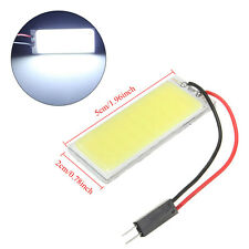 White T10 4W 12V COB LED Dome 48 SMD Panel Car Interior Light New Lamp Hot