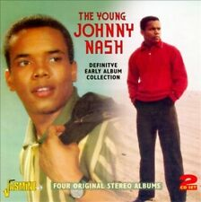 JOHNNY NASH - THE JOHNNY NASH DEFINITIVE EARLY ALBUM COLLECTION NEW CD