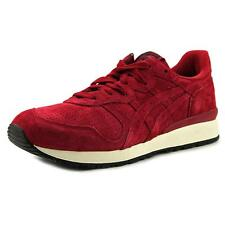 Onitsuka Tiger by Asics Tiger Alliance Men Round Toe Synthetic Burgundy Sneakers