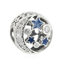authentic 925 sterling silver nomination charm beads Enamel & Clear CZ charms