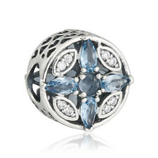 authentic 925 sterling silver Patterns Frost Crystal Beads genuine charms Bead