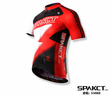 SPAKCT Cycling Bicycle Short Jersey Short Sleeves - Lightning Red
