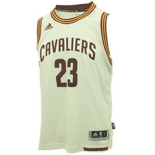 """Cleveland Cavaliers Youth Size LeBron James Swingman official NBA +2"""" Jersey New"""