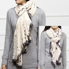 HOT FASHION LADY WOMEN'S LONG SOFT PRINT WRINKLE VISCOSE SCARF WRAP SHAWL STOLE