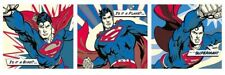 New DC Comics Superman Superhero Triptych DC Universe Panoramic Poster