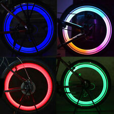 4 Colors Set Bike Bicycle Cycling Car Wheel Spoke Tire Wire Tyre LED Lights Lamp