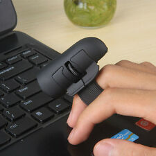 Mini Finger Mouse USB Optical Handheld Ring Mice for Laptop PC Wireless Wired