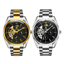 TEVISE Luxury Mens Gift Stainless Steel Mechanical Military Auto Wrist Watch