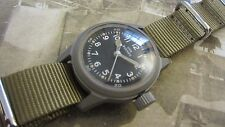 WW2 HAMILTON MILITARY WATCH USN BUSHIPS with NEW OLD STOCK MILITARY CASE