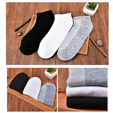 1pair Fashion Unisex Mens Ankle Sport Socks Low Cut Crew Casual Dress Cotton New