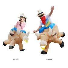 Anself Inflatable Cattle Costume Suit Cosplay Party For Men Women Children E3M6