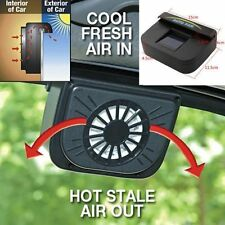 New Hot Solar Powered Car Window Windshield Auto Cooling & Air Vent Fan Cooler