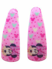 2 x Disney Minnie Mouse And Frozen Hair Clips Slides Party Bag Back To School