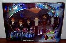 PEZ  DISPENSER  HARRY POTTER LIMITED EDITION COLLECTIBLE  GIFT SET