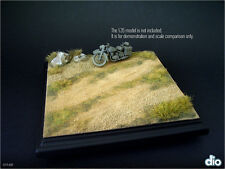Built & Painted Diorama Base (17x17cm), 1:35 Countryside Dirt Path Section