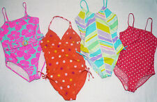 Girls Swimming Costumes Swimsuits GAP Pink Blue Red Purple 12-13 years