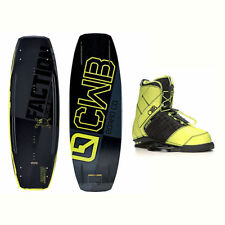 CWB Faction Wakeboard With LTD Faction Bindings 2017