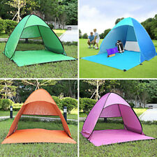 3-4 Person Outdoor Festival Camping Hiking Folding Tent Anti-rain Beach Tents 1x