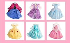 NWT AUTHENTIC DISNEY STORE GIRLS  PRINCESS COSTUME DRESS GOWN SIZES 5/6 7/8 9/10