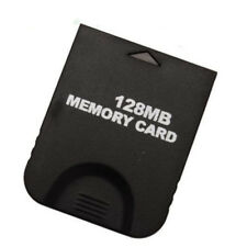 New 128MB Memory Card for Nintendo Gamecube Wii Console NGC GC SLOT System Black