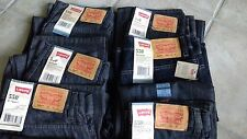 NWT, $40 - $42 MSRP, Boys Levi 550 100% Cotton Denim Relaxed Fit Jeans