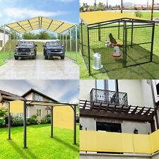 13' FT Waterproof Straight Side Hemmed Sun Shade Sail Canopy Awning Patio Cover