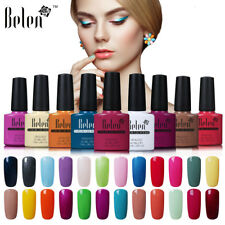 Belen Soak-off Gel Nail Polish Color Varnish UV LED Top Coat Primer Manicure UK