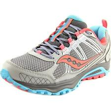 Saucony Grid Excursion TR10 Women  Round Toe Synthetic Gray Running Shoe