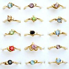 Wholesale Resale Lot Mixed 10/20/30/50pcs Women Crystal Bands Rings Jewelry New