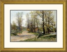 Global Gallery 'The Country Lane' by Hugh Bolton Jones Framed Photographic Print