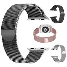 Magnetic Milanese Loop Mesh Stainless Steel Strap Wrist Band for Apple Watch 1 2