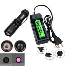 OSRAM 850nm 7W Infrared IR Night Vision Zoomable LED Hunt Flashlight Torch Light