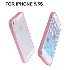 New Ultra Thin TPU Crystal Clear Phone Case Phone Cover For iPhone 5 5s