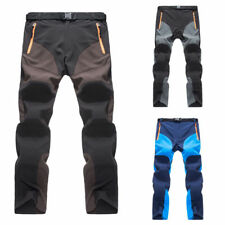 Outdoor Mens Soft shell Camping Tactical Cargo Pants Combat Hiking Trousers New