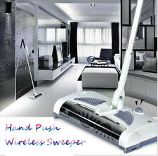 Automatic Hand Push Sweeper 360° Spin Broom Household Cleaning Mop With Electric