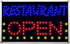 led132 Restaurant OPEN LED Neon Light Sign