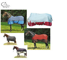 Lightweight Fleece Lined Turnout Rug  HKM All Sizes, Colours, FREE DELIVERY
