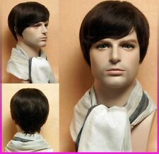 Men 's Short hair wig for men Hairpiece Toupee wiggery 100% Real human hair Wigs