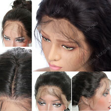 Long Straight Lace Front Wig Real Remy Human Hair Wig For Black Women Ladies bv3
