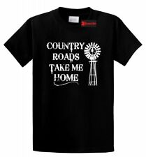 Country Roads Take Me Home T Shirt Country Music Concert Graphic Tee