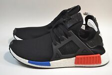 New Mens Adidas NMD XR1 PrimeKnit OG Core Black Blue Red BY1909 PK